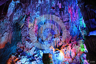 Reed Flute Caves in Guilin