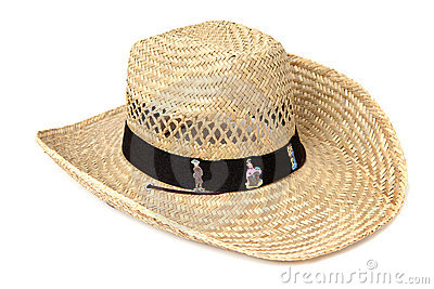 Reed western hat