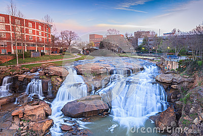 Reedy Waterfalls Greenville South Carolina SC