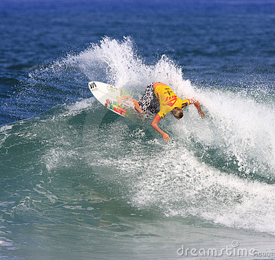 Reef Hawaiian Pro 2008 Editorial Stock Image