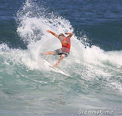 Reef Hawaiian Pro 2008 Editorial Stock Photo