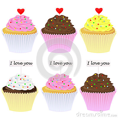 Reeks cupcakes