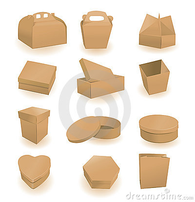 Reeks dozen en pakketten