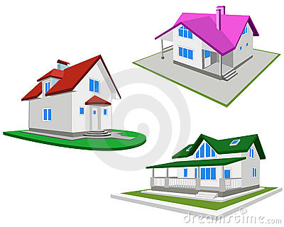 Reeks huizen