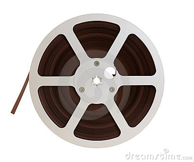 Reel of audio recording tape