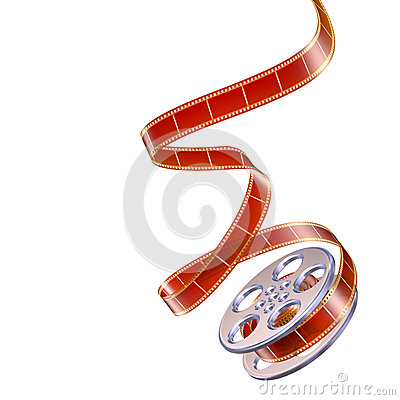 Free Reel Of Film Stock Image - 25048321