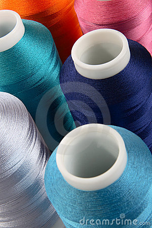Free Reels Of Threads Royalty Free Stock Photo - 2397155