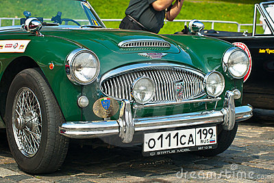 Reen Austin Healey 3000 Mk II (1962) Editorial Photography