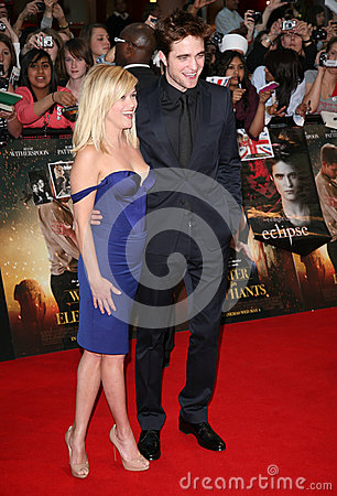 Reese Witherspoon,Robert Pattinson Editorial Stock Image