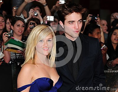 Reese Witherspoon,Robert Pattinson Editorial Photography