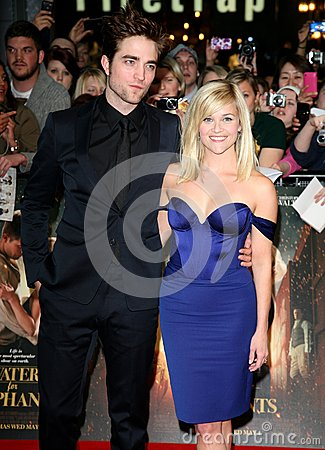 Reese Witherspoon,Robert Pattinson Editorial Image