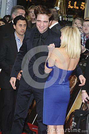 Reese Witherspoon,Robert Pattinson Editorial Stock Photo