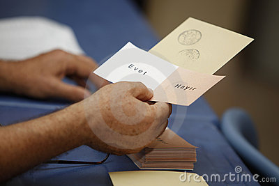 Referandum in Turkey Editorial Stock Image