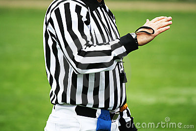Referee decision