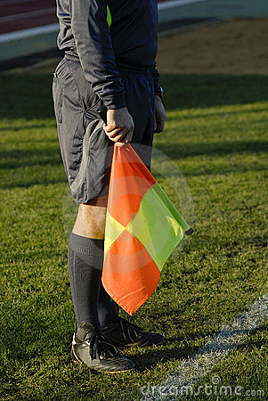 Referee in football