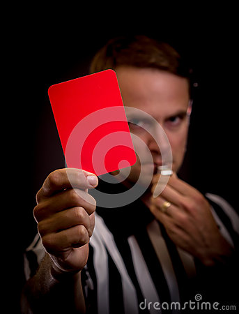 Free Referee Foul Stock Image - 31319181