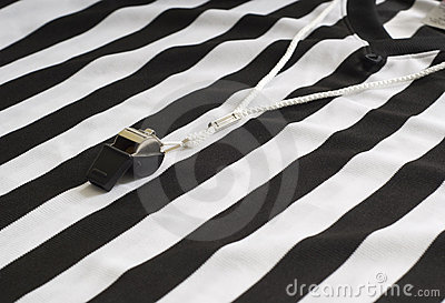 Referee Shirt with Whistle