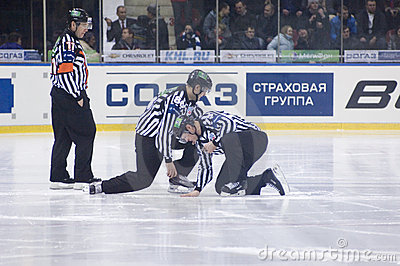 Referees Editorial Stock Image