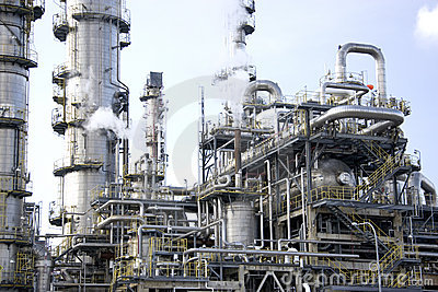 Refinería de petróleo