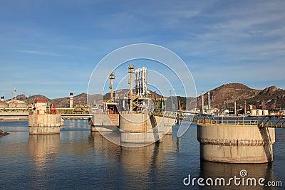 Refinery port