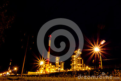 Refinery. Russia, Yaroslavl