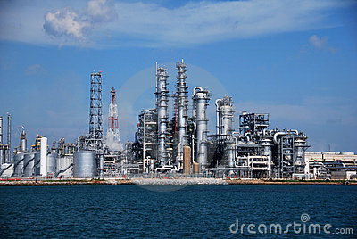 Refinery in Singapore