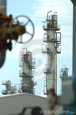 Refinery Editorial Stock Image