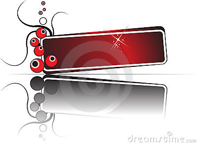 Reflect Banner Vector Royalty Free Stock Images - Image: 4810149