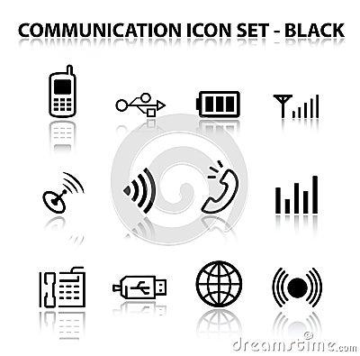 Reflect Communication Icon Set