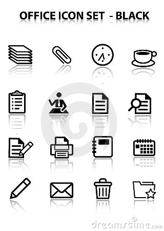 Reflect Office Icon Set