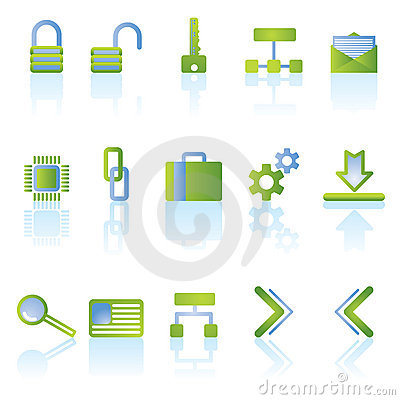 Reflect security icons