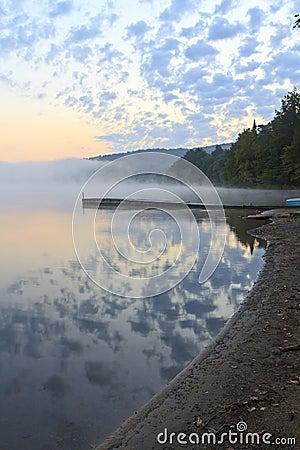 Reflected Adirondack Sunrise