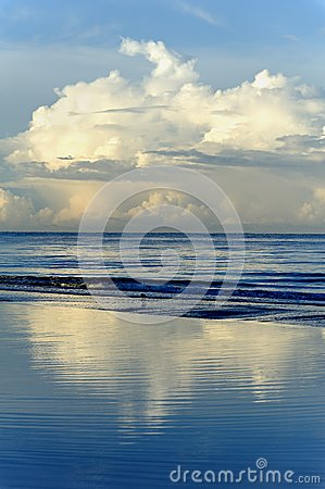 Reflecting Clouds at Ocean