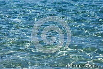 Reflecting sea water
