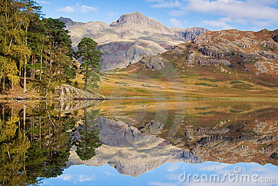 Reflection on Blea tarn