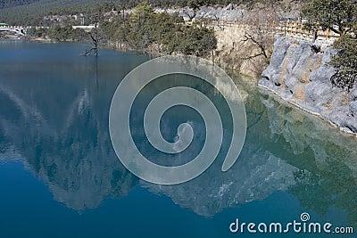 Reflection of Jade Dragon Snow Mountain