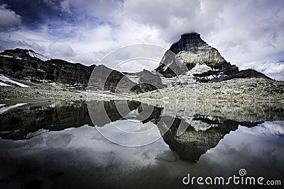 Reflection of the Matterhorn