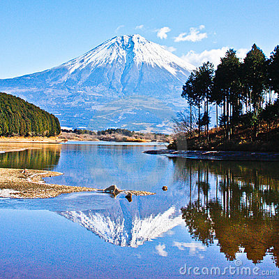 Reflection Mount Fuji-2