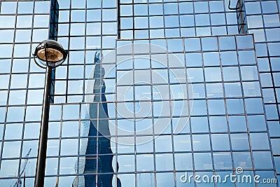 Reflection of The Shard London