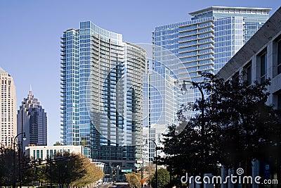 Reflections on the Atlanta Skyline
