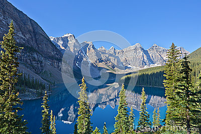 Reflections in Moraine Lake