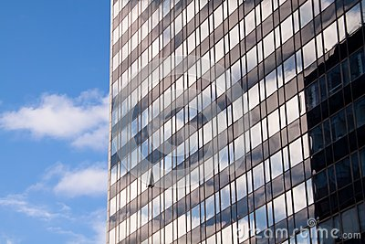 Reflections in office building 2