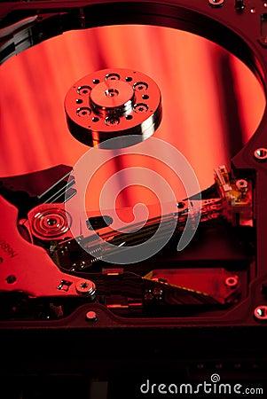 Reflective magnetic disk