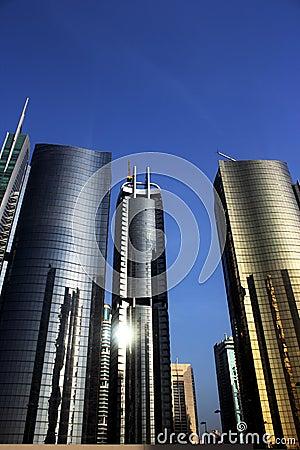 Reflective towers JLT