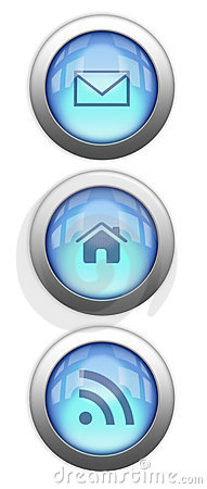Reflective Web Buttons