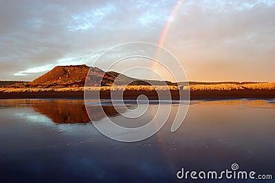 Reflektierender Regenbogen