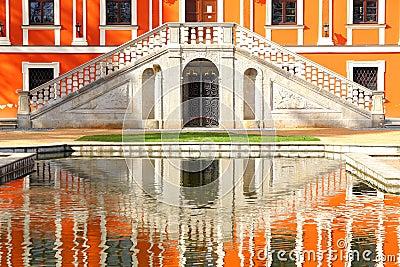 Reflexão na água