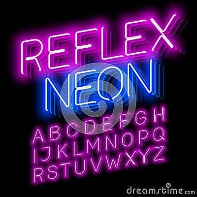 Free Reflex Neon Stock Photography - 77150632