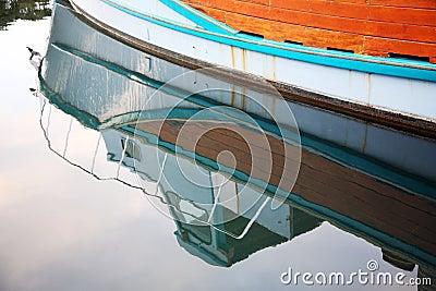 Reflexión de un barco