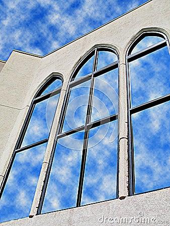Reflexiones en el vidrio 4
